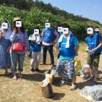 20180804_関屋浜掃除1