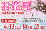 <b>いよいよ今週末開催☆新潟で2019年お花見イベント●´∀`)ノ</b>