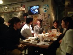 ホワイトデー飲み会2