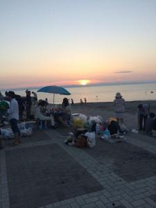 夏のバーベキュー&花火5