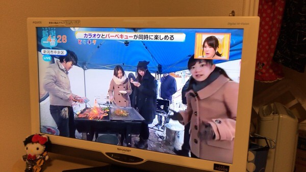 新潟市 テラスBBQ