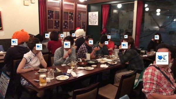 新潟市 ハロウィン飲み会