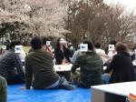 <b>4/14(土)に、新潟市で、「お花見イベント」を開催しました(^▽^)</b>