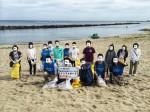 <b>6/23(土)に、新潟市で「関屋浜掃除」を、実施しました(ノ'ω')ノ</b>