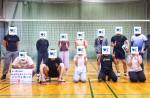 <b>新潟市で、6/17(月)に「バレーボール」を開催しました\(∇⌒\)</b>
