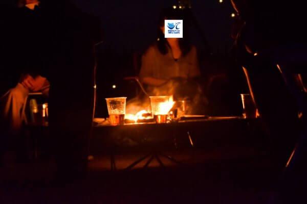 新潟 焚き火トーク
